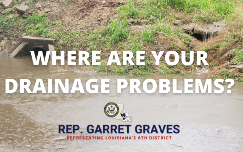 Where are your drainage problems? Fill out the form and let us know.